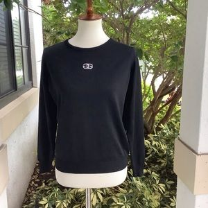 Givenchy Black Logo Crewneck Sweater